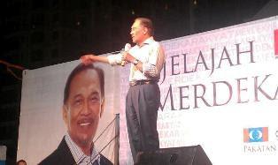 Anwar Ibrahim Jelajah Merdeka Rakyat