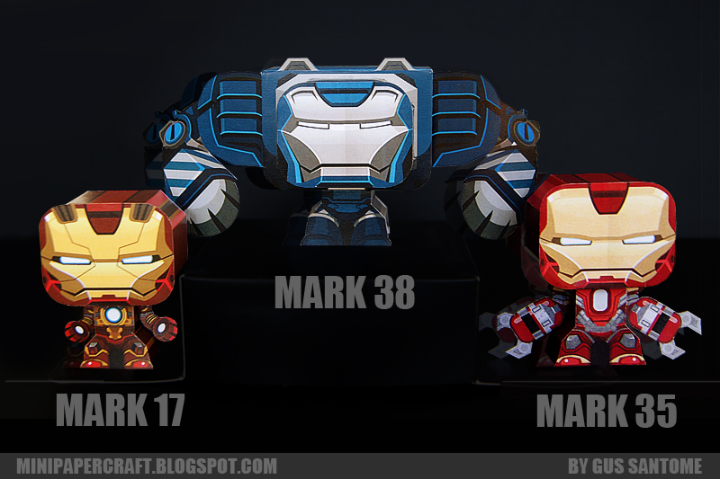 IRONMAN 3   MARK 17, 35, 38
