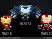 IRONMAN 3 - MARK 17, 35, 38