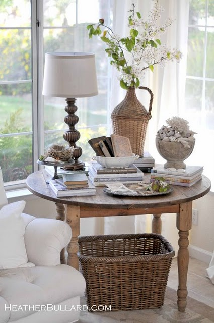 Sittas decor mesas laterais e de centro - Corner table decoration ideas ...
