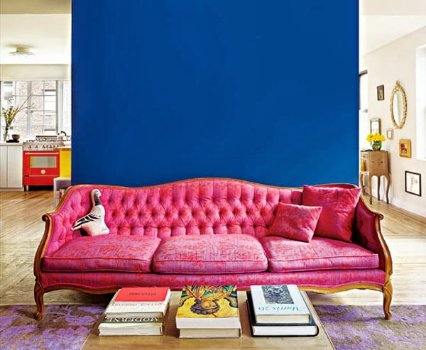 Wall In Bold Color