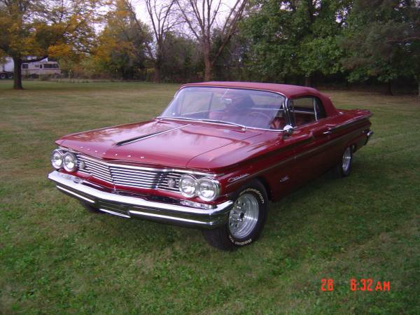 1960 pontiac catalina convertible for sale buy american muscle car. Black Bedroom Furniture Sets. Home Design Ideas