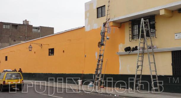 Pintado de fachadas y embanderamiento general obligatorio - Pintado de fachadas ...