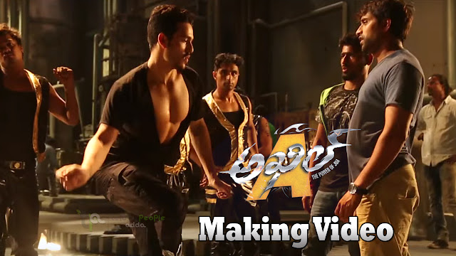 Akhil Intro Song Making Video | Akhil Movie | Akhil Akkineni