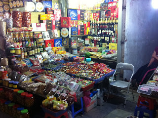 Market shop in Hanoi (Vietnam)
