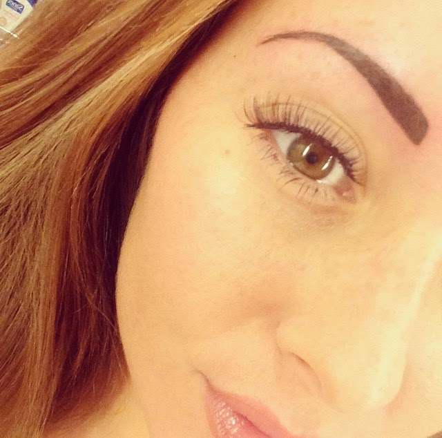 Beaut Drogu Semi Permanent Makeup Eyebrows First Week