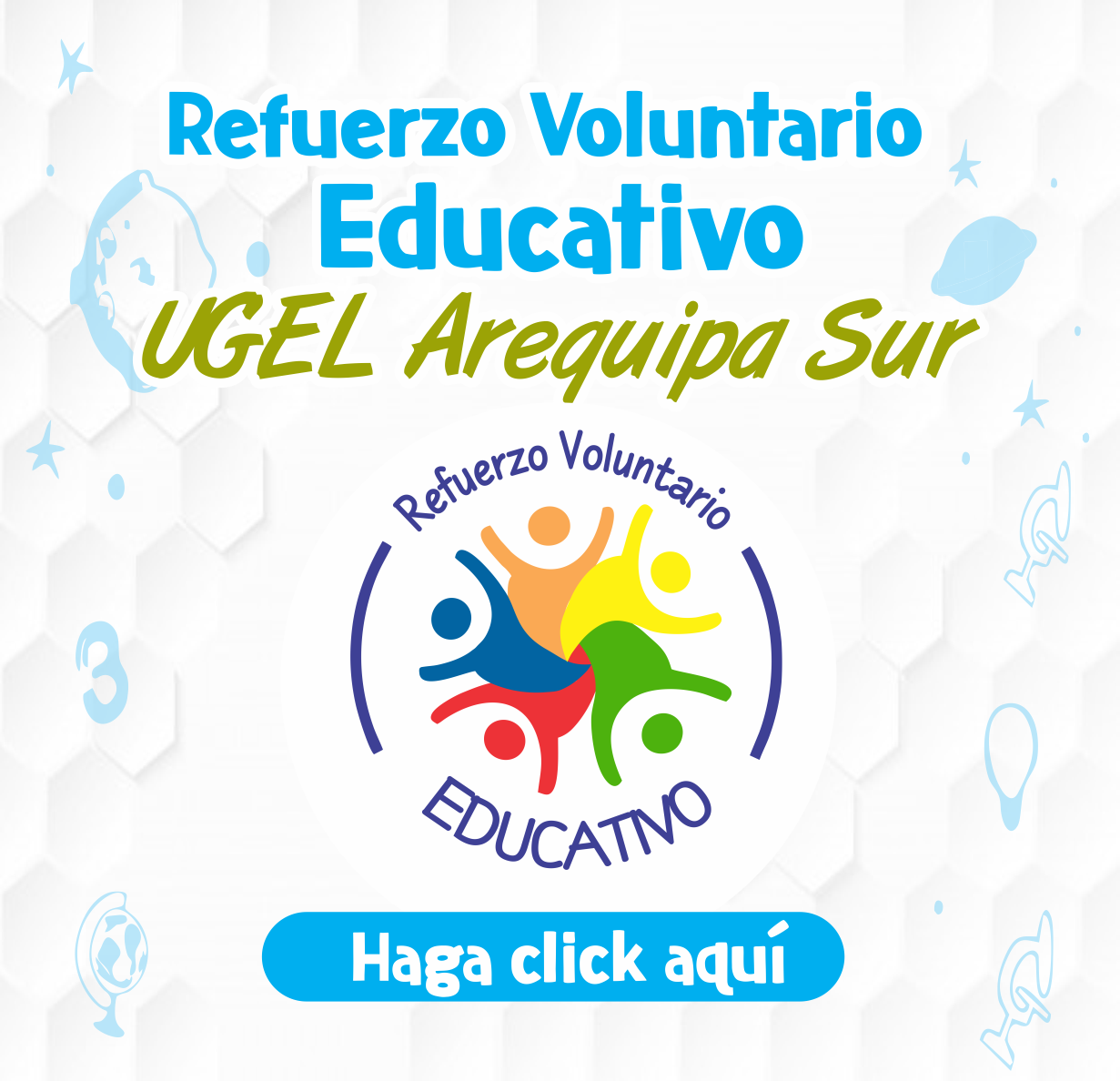 REFUERZO VOLUNTARIO EDUCATIVO