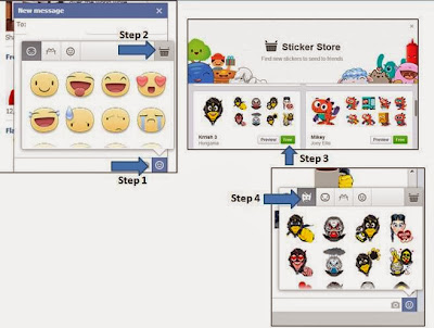How to Use/ Install Krrish 3 Facebook  Stickers ?