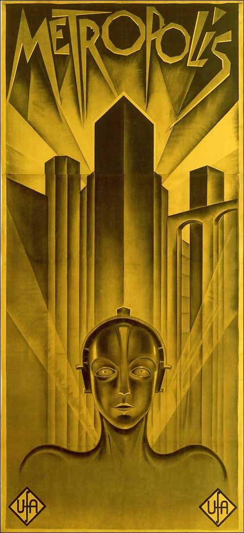 Doctor Ojiplático. Boris Bilinsky y Metropolis. Heinz Schulz-Neudamm