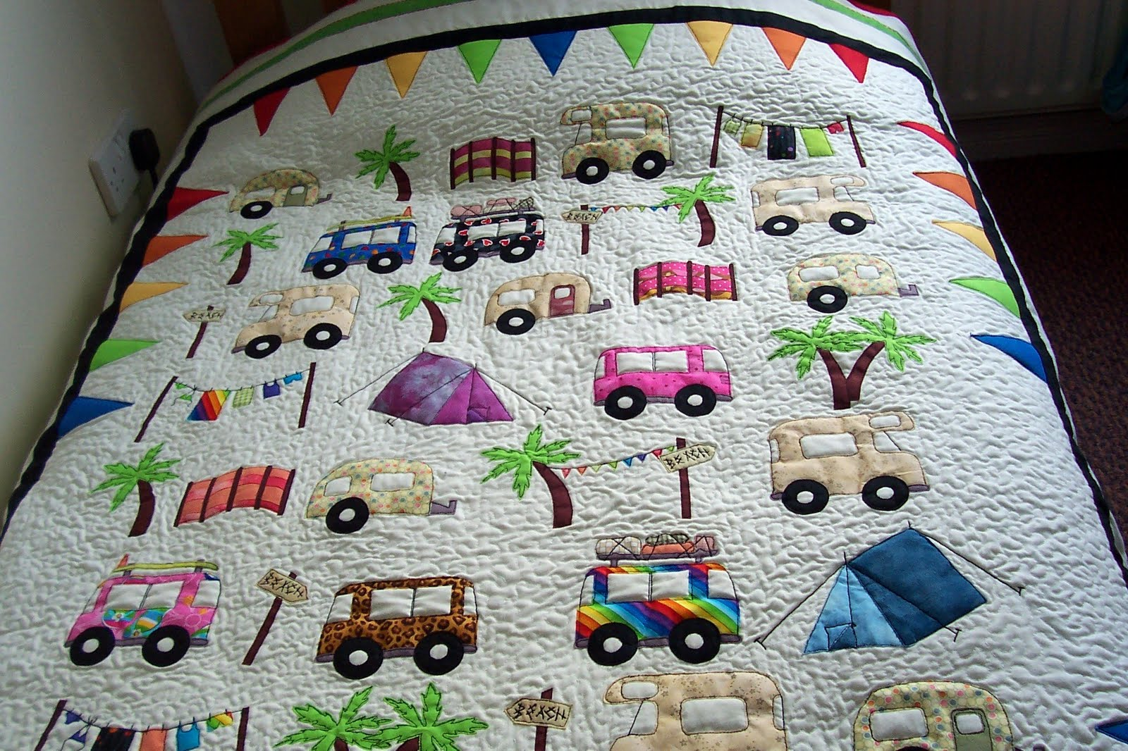 house of spoon: camping quilt - babyroom 1 : theme quilts - Adamdwight.com