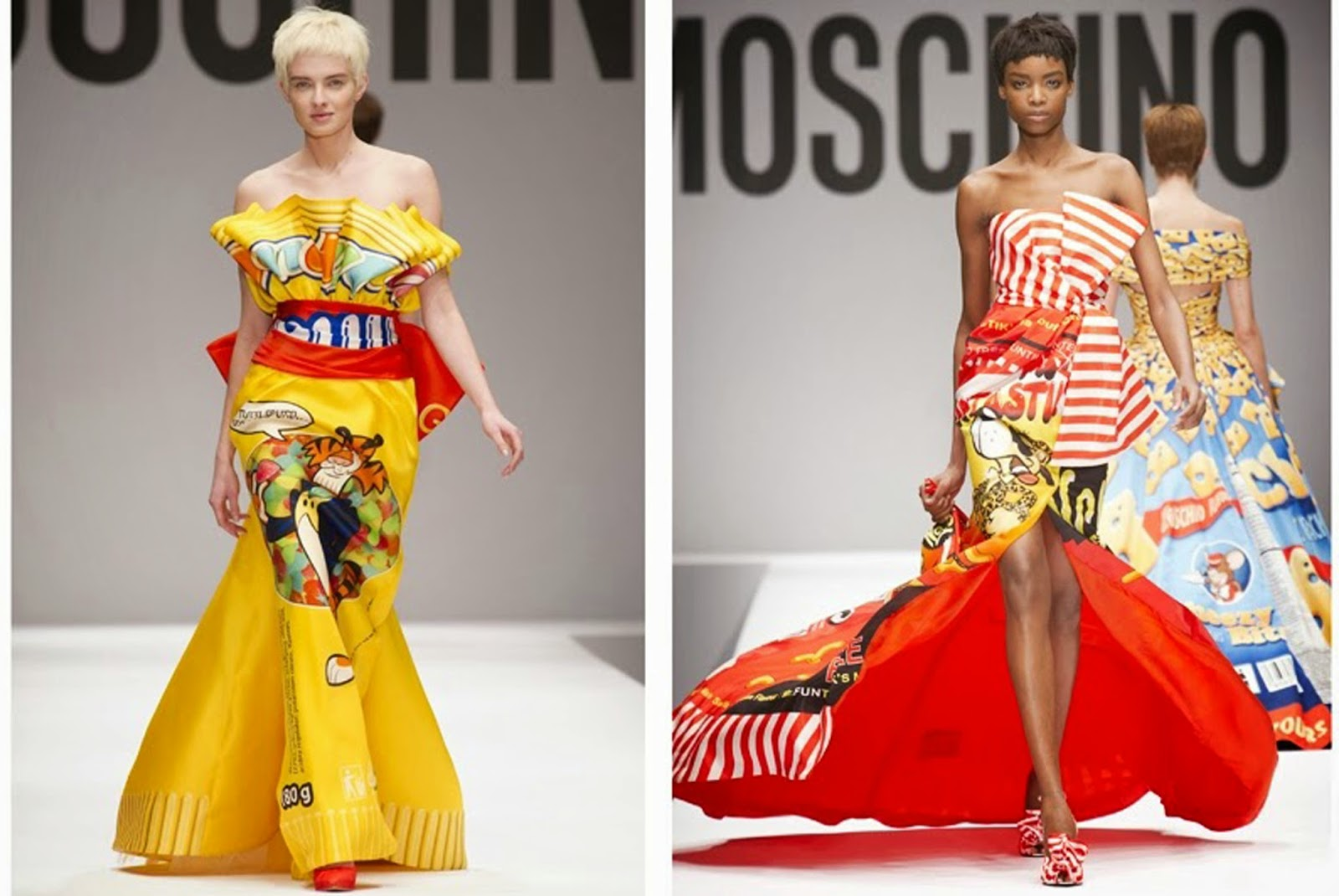 Moschino Pop Art Collection Serafini Pizzeria