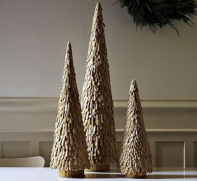 Rustik chateaux 7 arboles de navidad mini para tu recibidor for Arbol de navidad pequeno