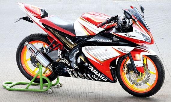 Yamaha New Vixion Full Modif