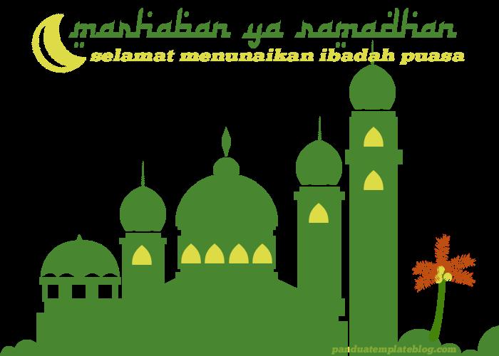 Marhaban Ya Ramadhan Selamat Menjalankan Ibadah Puasa