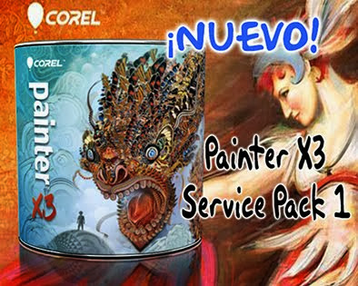Painter X3 -Service Pack1-(Windows y Mc)