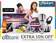 Citibank-10-cashback-promocode-flipkart