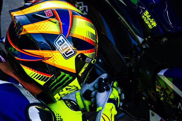 Melihat Keberuntungan Rossi Pada Race Valencia Besok