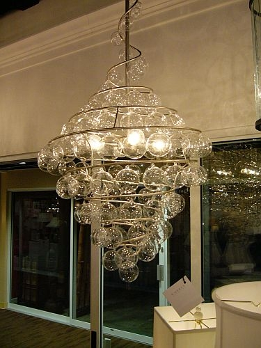 modern foyer pendants
