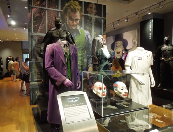 The Dark Knight movie costume props