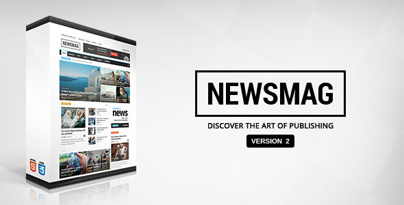 Free Download Newsmag V2.2 News Magazine Newspaper Wordpress Theme