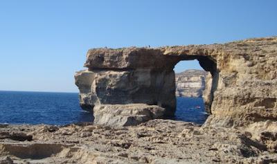 Azure Window Ventana Azul Malta