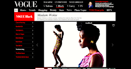 Madam Wokie feature on Vogue italia