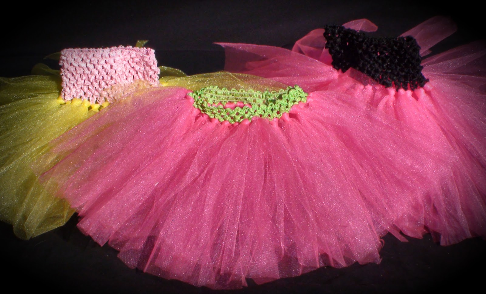 Tulle fabric has a lot of different uses. Of course, here at Tutu Girl, we use it for tutus! We are confident when we say our tu tus are made with the best quality, premium quality apparel tulle fabric. This tutu fabric is soft with tiny holes. Don't mistake our tulle with the scratchy, larger holed hex tulle.