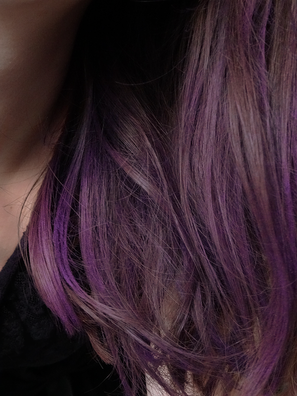 Beauty gibberish purple hair hair shadow de kiko - Violet prune couleur ...