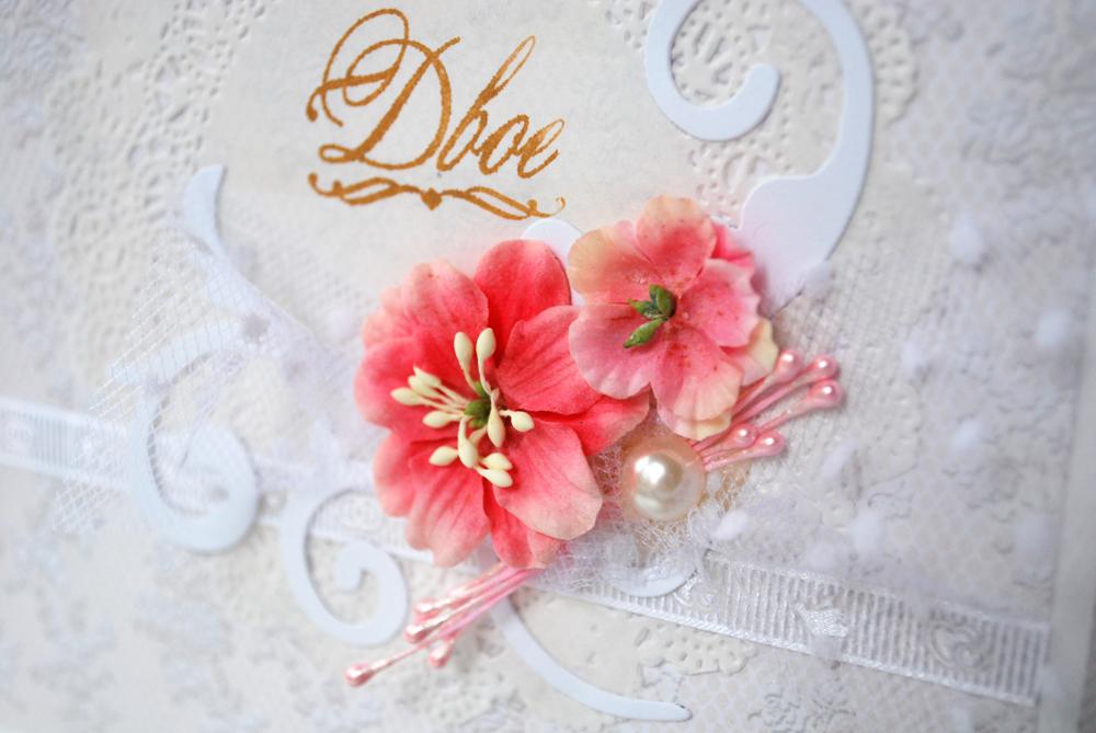 Цветы гортензии для скрапбукинга 139