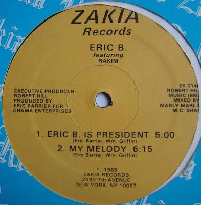 Eric B & Rakim – Eric B Is President / My Melody (VLS) (1986) (192 kbps)