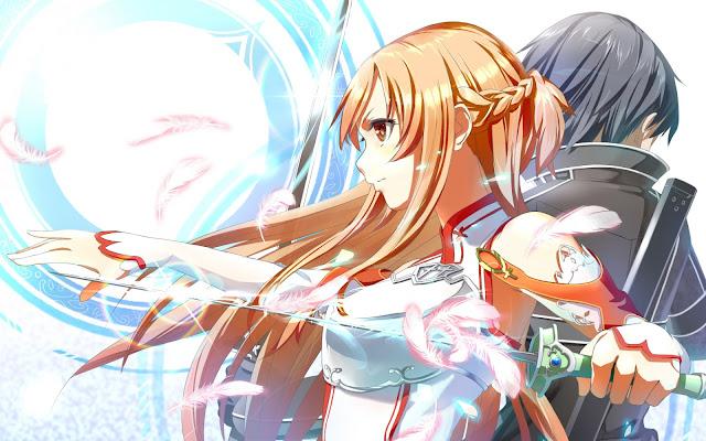 Sword Art Online Asuna Kirito Wallpaper 0015