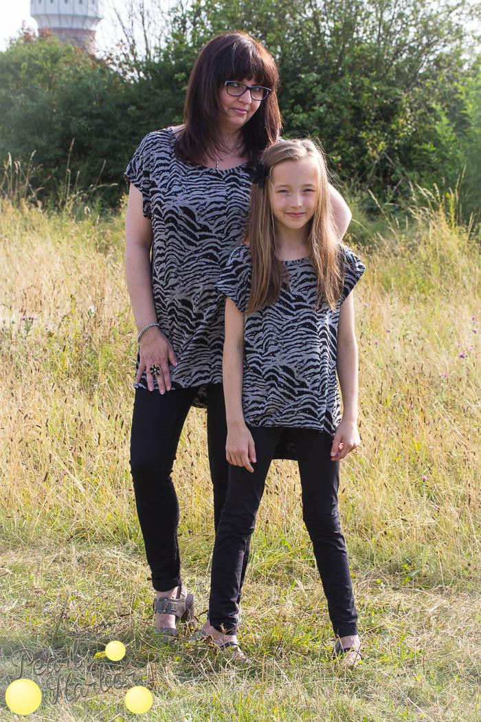 Neues Shirt für Mutter und Tochter {Genähtes} — Pearls