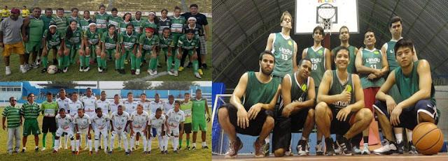 Basquete, Futebol Feminino e SUB-20. Final de semana esmeraldino!