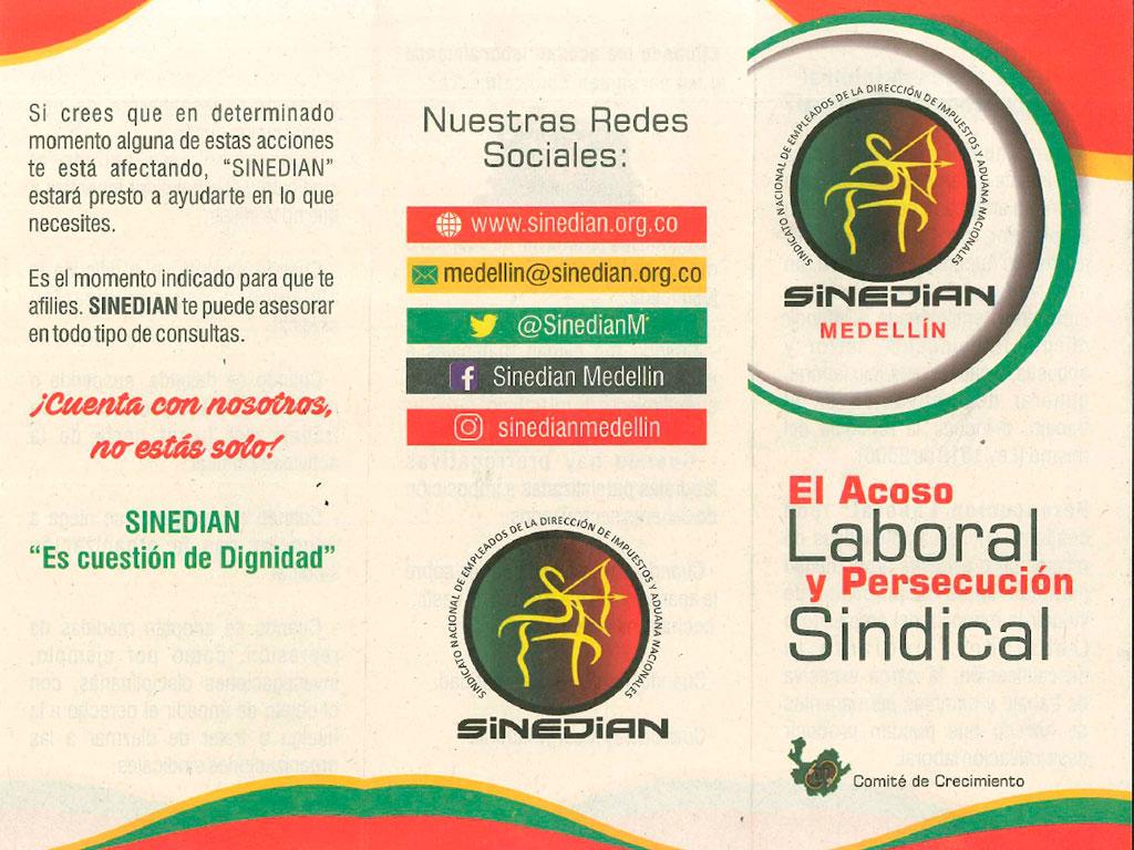 El acoso laboral y persecución sindical