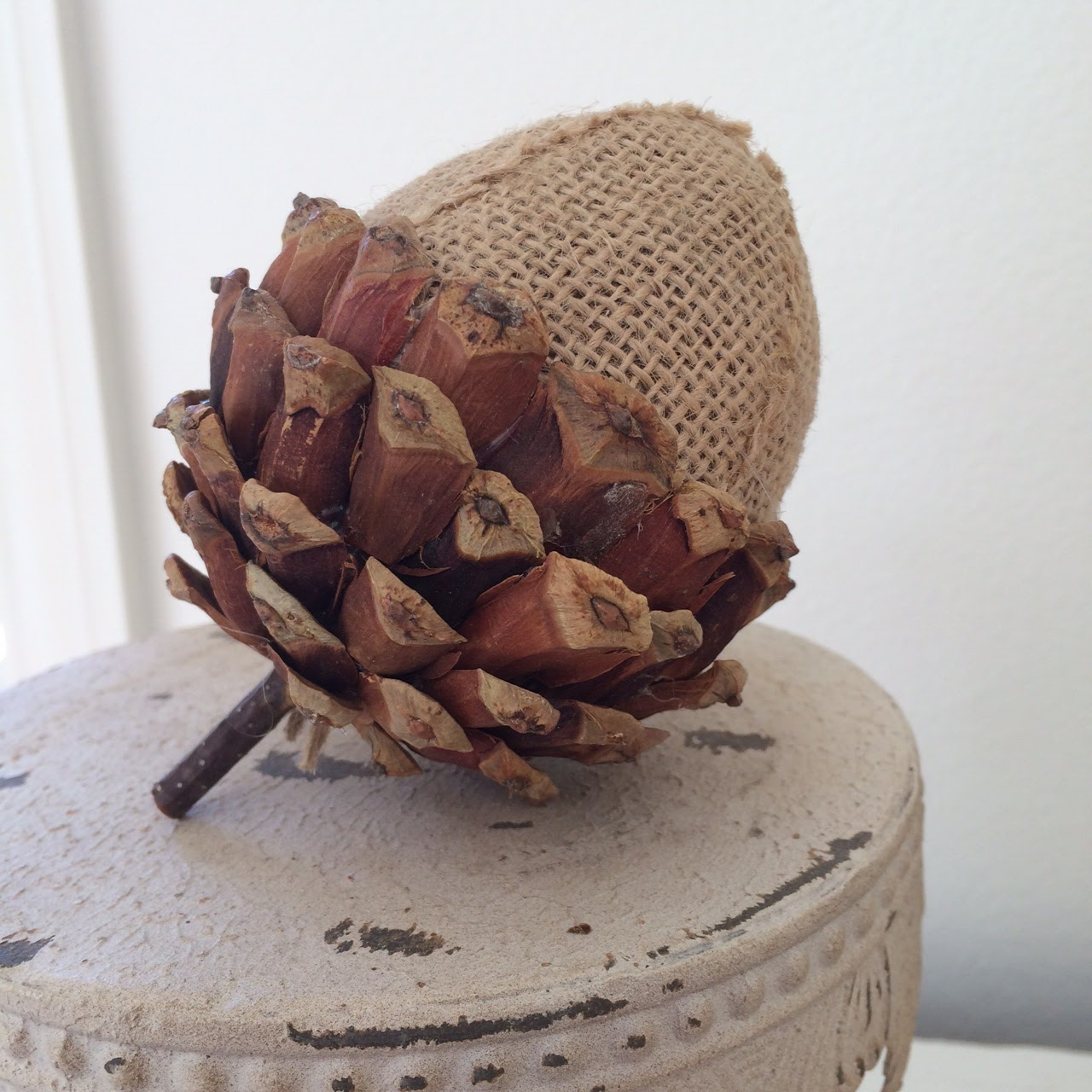 Little Farmstead: Fall Decorating with Acorns {Three Styles}