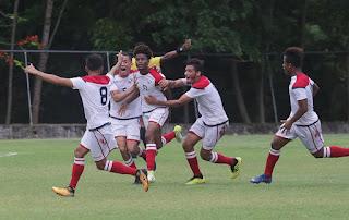 Selección Fútbol Sub-23 llega animada a segundo juego ante Cuba