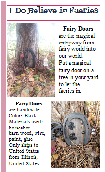Fairy Doors at ESTY