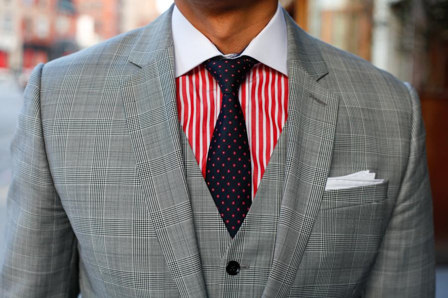 Levitate Style - American Classic, Express Three Piece Suit Two Looks    J. J. Threads, Allen Edmonds, Filson Briefcase