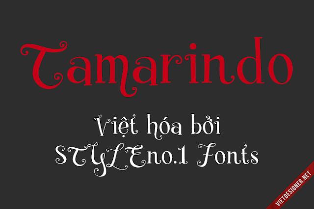 [Hand-write Serif] Tamarindo Việt hóa