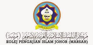(MARSAH) Kolej Pengajian Islam Johor