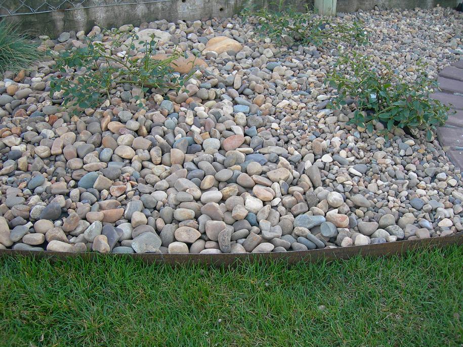 El jardin bueno bonito y barato el cesped for Jardines pequenos con grava