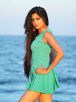 Actress Poonam Kaur latest Hot Photos at Beach-cover-photo