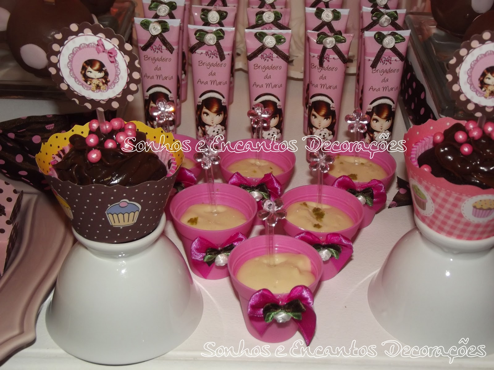 Sonhos e encantos decora es cupcakes e jolie - Jolie cupcake ...