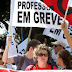 Professores do estado decidem manter a greve