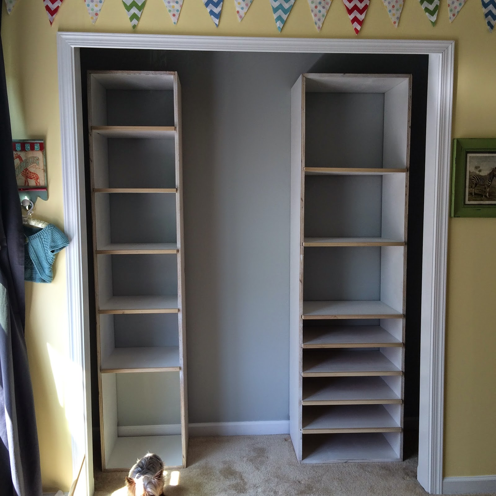 DIY Custom Closet - Before & After