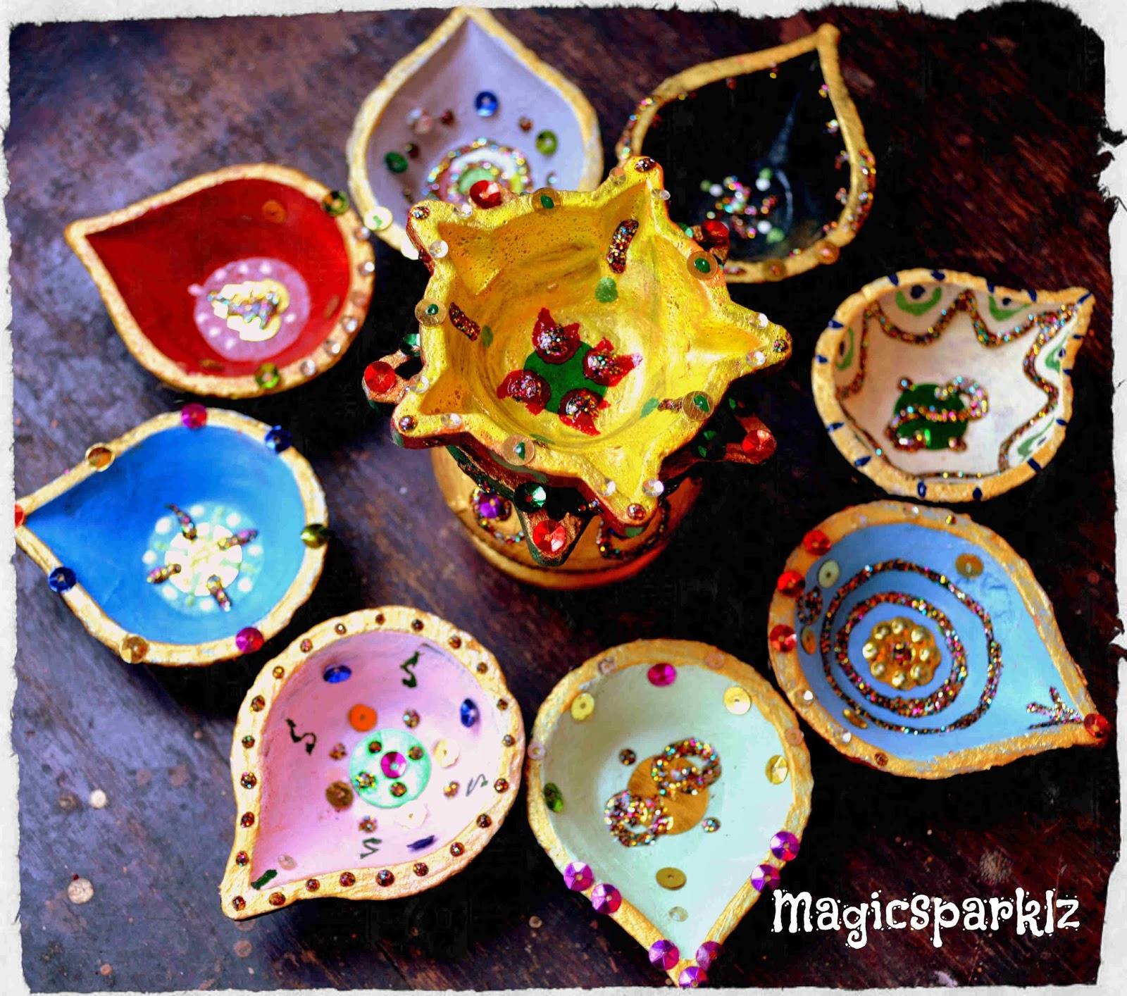 Magic Sparklz Decorative Diyas