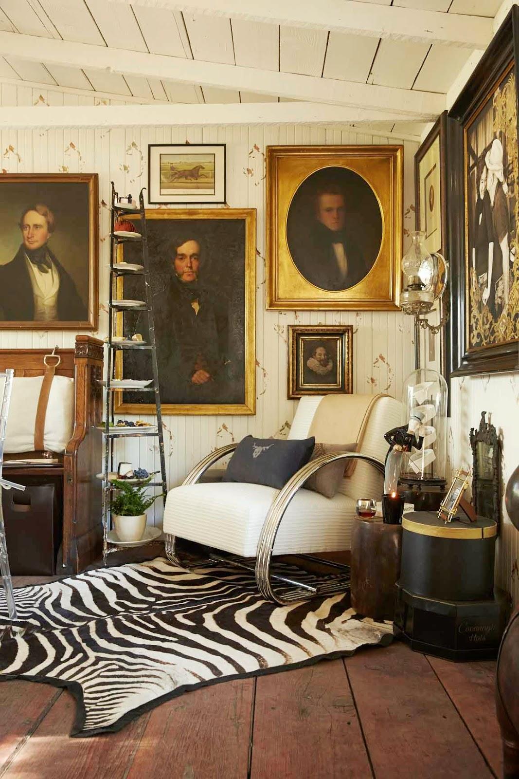 Charmant Positively British: San Francisco Interior Designer Jonathan Rachman  Transforms A Napa Valley Farmhouse Into An Evocative Retreat With A Private  Drinking ...