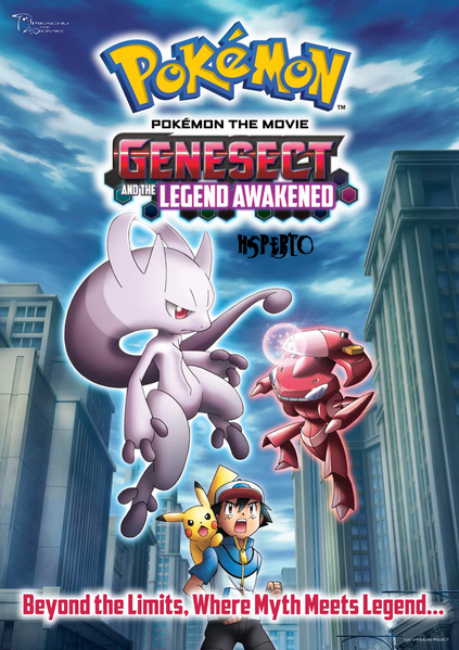 Pokémon O Filme Genesect E A Lenda Despertada   Legendado download baixar torrent