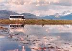 Chalten Travel bus, El Calafate, Patagonia