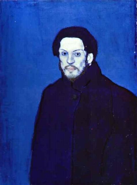 Picasso: de azul y melancolía